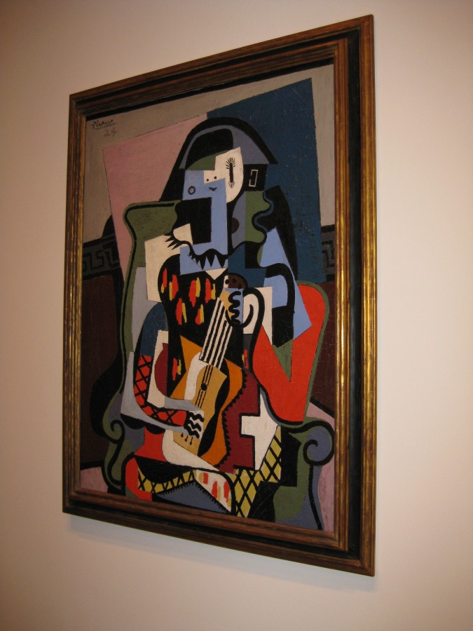 Picasso's Cubism Period. Photo: Jenny Williams