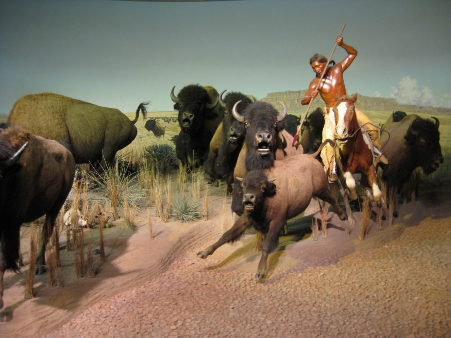 This life-size diorama is from the Milwaukee Public Museum. It's just as dramatic as it was when I was a kid. Photo: Jenny Williams