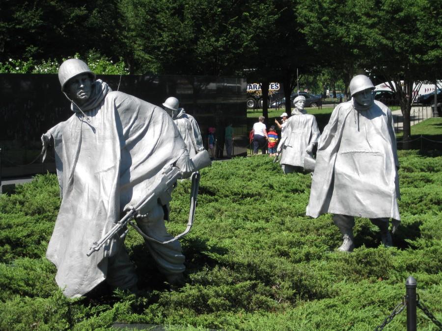 The Korean War Memorial. Very moving. Photo: Jenny Williams